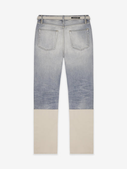 Denim Nylon Double Front Work Pant - Fear of God