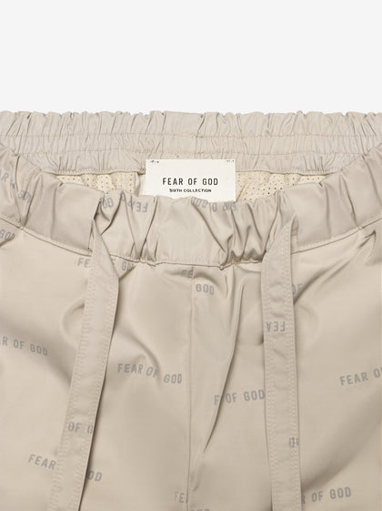 All Over Print Baggy Nylon Pant - Fear of God
