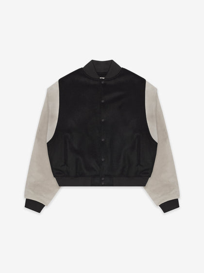 Sixth Collection Paneled Varsity Jacket - Fear of God