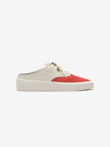 101 Backless Sneaker Bone/Red - Fear of God