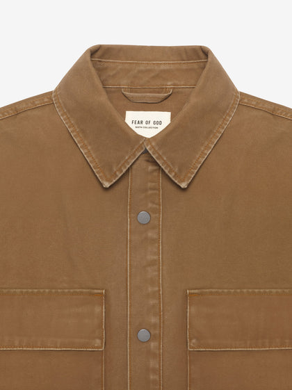 Canvas Shirt Jacket - Fear of God