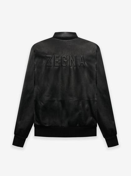 FEAROFGODZegna Leather Bomber Jacket - Fear of God