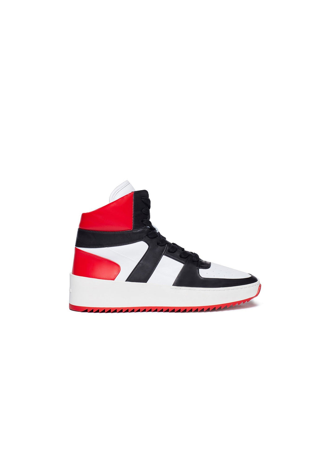 Black / White / Varsity Red Basketball Sneaker