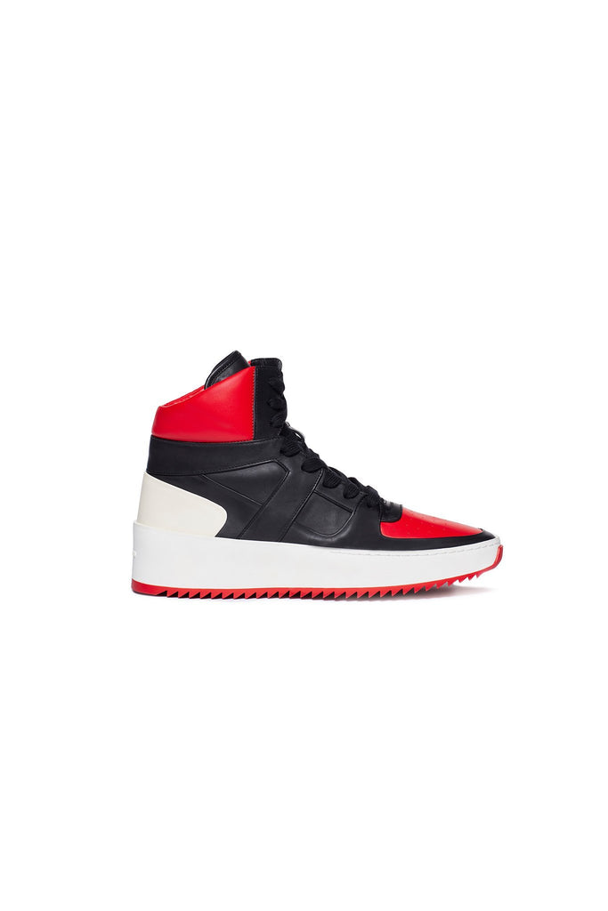Varsity Red / Black Basketball Sneaker