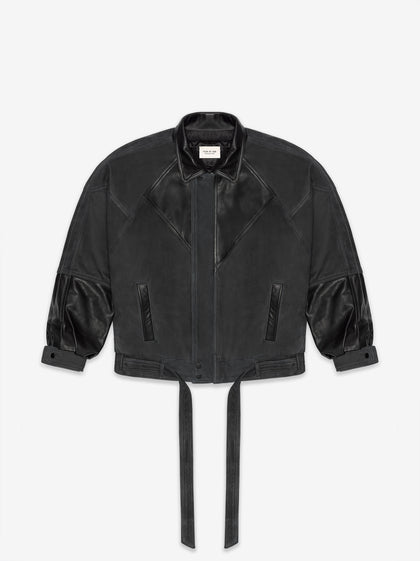 Panelled Leather Jacket - Fear of God