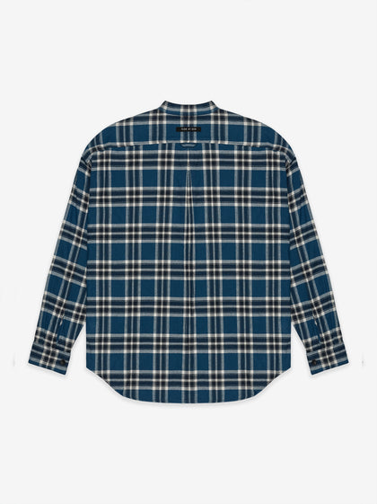 Plaid Pullover Henley - Fear of God