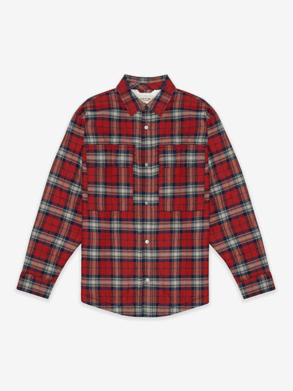 Flannel Shirt Jacket - Fear of God