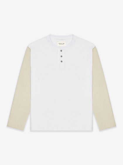Long Sleeve Henley - Fear of God