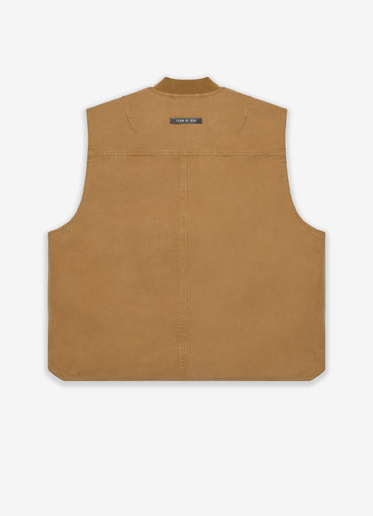 Canvas Work Vest - Fear of God