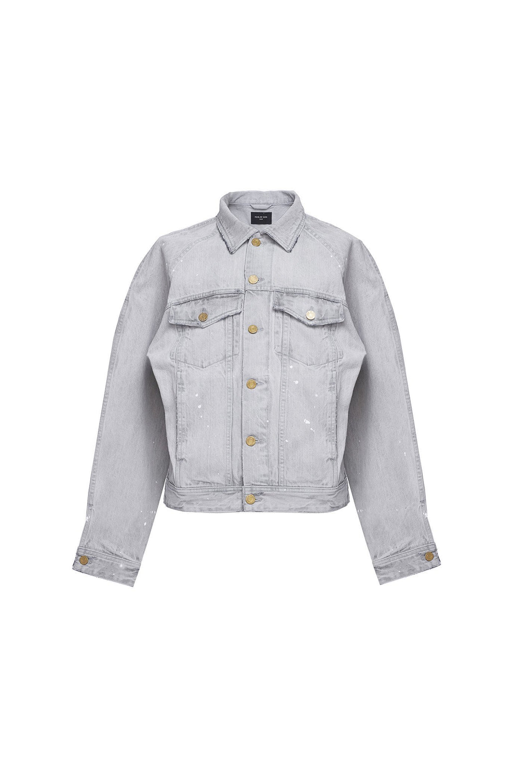 Selvedge Denim Raglan Trucker Jacket