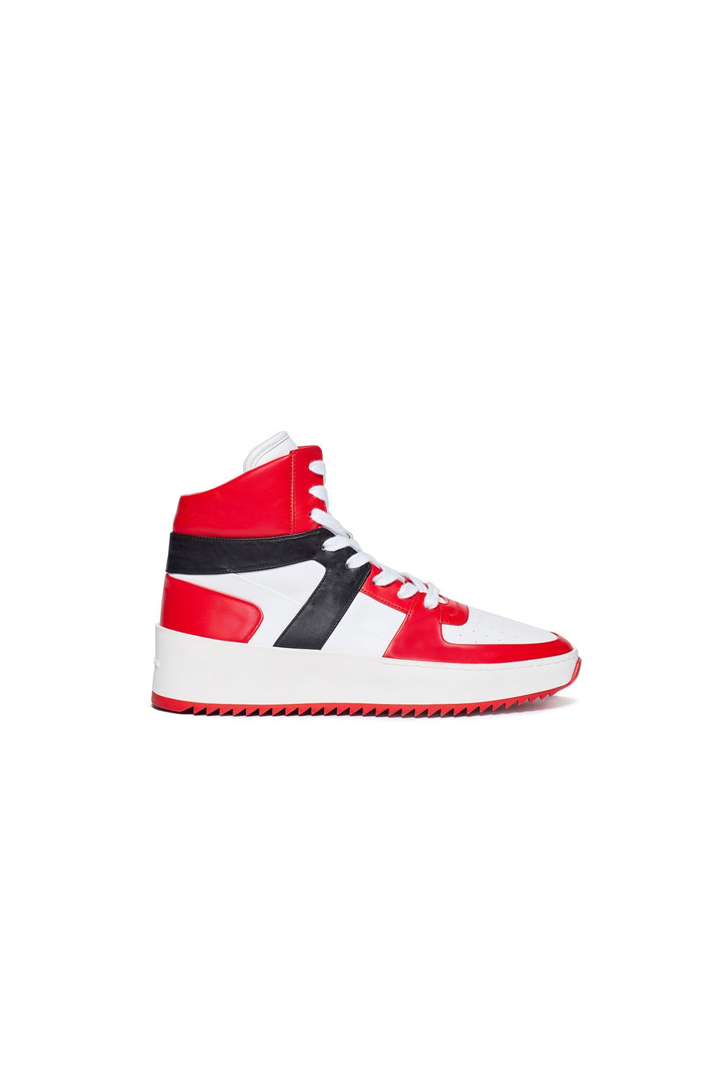 Varsity Red / White / Black Basketball Sneaker