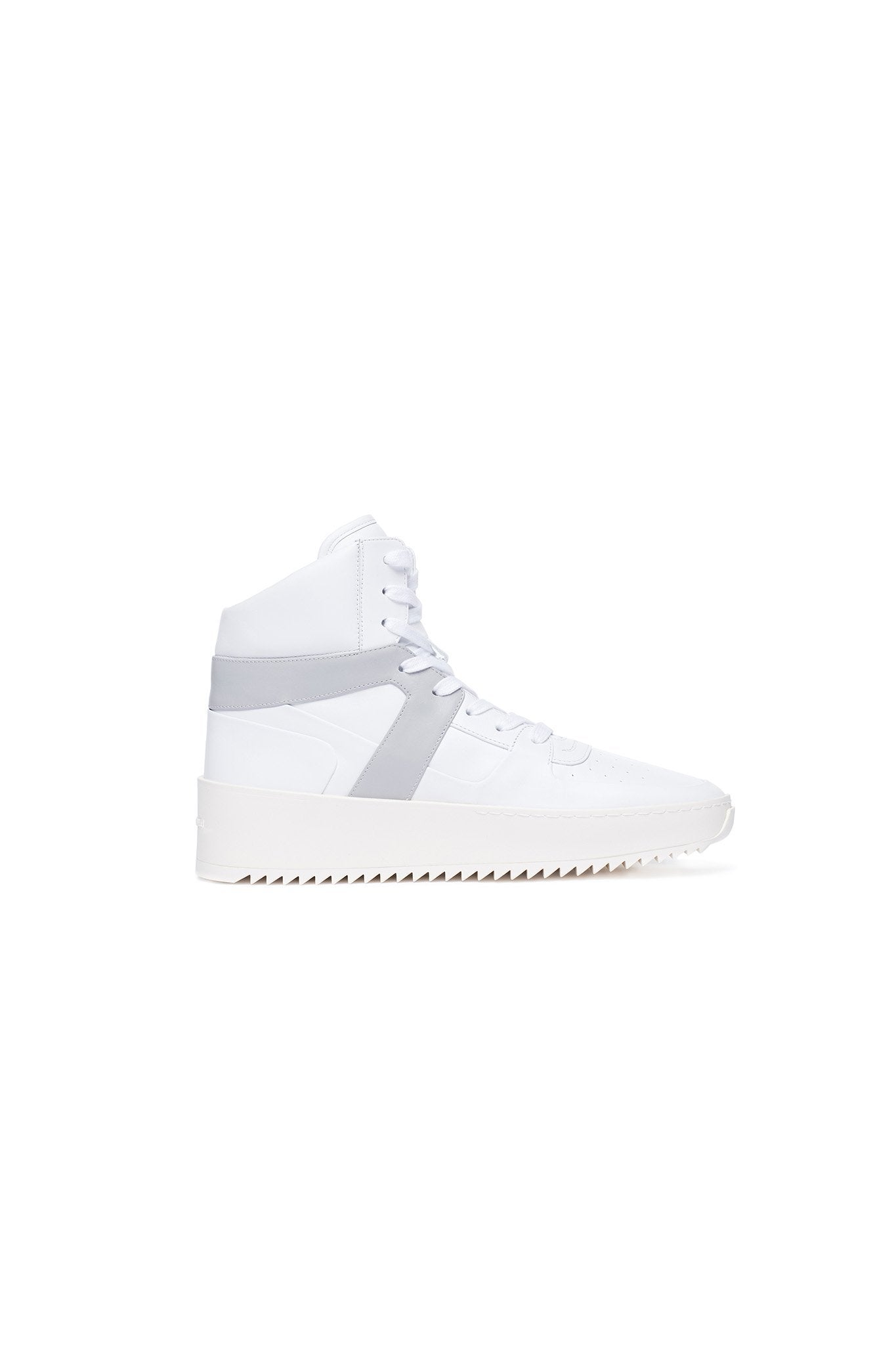 White / Bianco / Perla Basketball Sneaker
