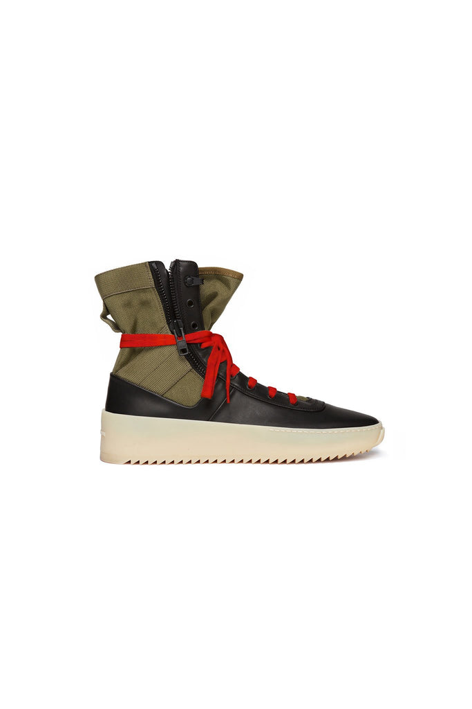 Army Green / Black / Gum Jungle Sneaker