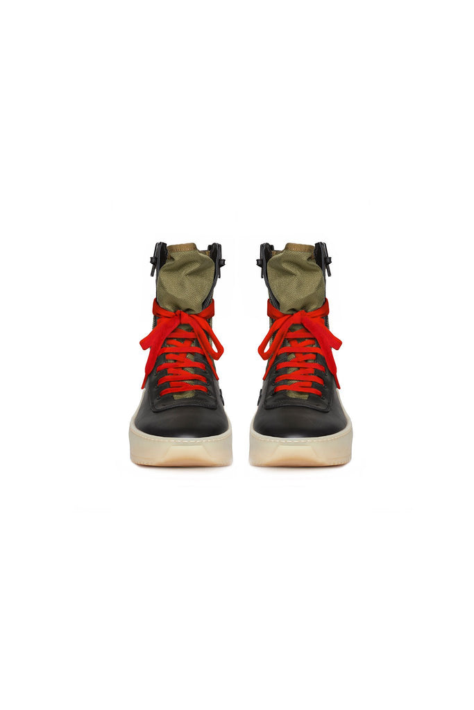 Army Green / Black / Gum