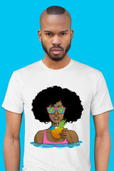ZillaMunch Tee - Afrolicious - Men - White