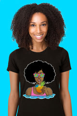 ZillaMunch Tee - Afrolicious - Women - Black