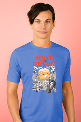 ZillaMunch Tee - Attack of the 50ft Cupcake - Men - Royal