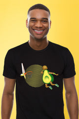 ZillaMunch Tee - Avocado Dunk - Men - Black