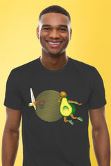 ZillaMunch Tee - Avocado Dunk - Men - Heavy Metal