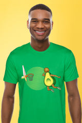 ZillaMunch Tee - Avocado Dunk - Men - Kelly Green