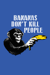 ZillaMunch Tee -  Bananas Don't Kill People - Artwork