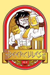ZillaMunch Tee - Beercules - Artwork