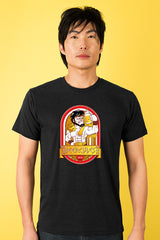 ZillaMunch Tee - Beercules - Men - Vintage Black