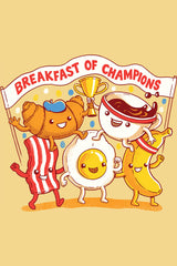 ZillaMunch Tee - Breakfast of Champions - Artwork