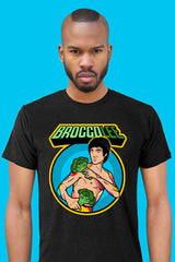 ZillaMunch Tee - BroccoLee - Men - Vintage Black