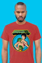 ZillaMunch Tee - BroccoLee - Men - Vintage Red