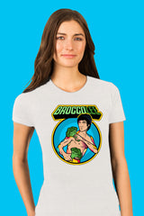 ZillaMunch Tee - BroccoLee - Women - Heather White