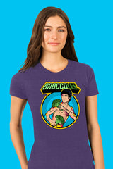 ZillaMunch Tee - BroccoLee - Women - Purple Rush