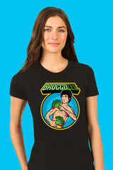 ZillaMunch Tee - BroccoLee - Women - Vintage Black