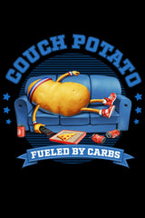 ZillaMunch Tee - Couch Potato - Artwork