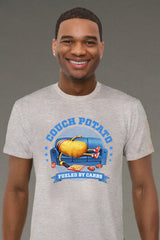 ZillaMunch Tee - Couch Potato - Men - Heather Gray