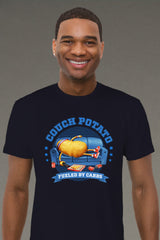ZillaMunch Tee - Couch Potato - Men - Midnight Navy