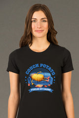 ZillaMunch Tee - Couch Potato - Women - Black