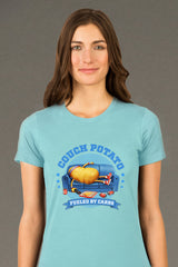 ZillaMunch Tee - Couch Potato - Women - Cancun