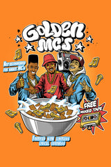 ZillaMunch Tee - Golden MC's - Artwork