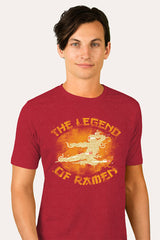 ZillaMunch Tee - Legend of Ramen II - Men - Cardinal