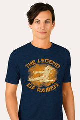 ZillaMunch Tee - Legend of Ramen II - Men - Midnight Blue