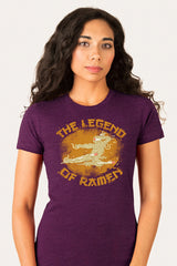 ZillaMunch Tee - Legend of Ramen II - Women - Plum