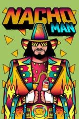 ZillaMunch Tee - Nacho Man - Artwork
