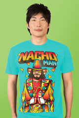 ZillaMunch Tee - Nacho Man - Men - Tahiti