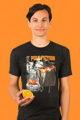 ZillaMunch Tee - Pulp Fiction - Men - Vintage Black