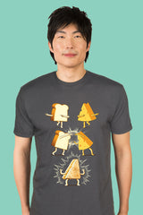 ZillaMunch Tee - Super Grilled Cheese - Men - Heavy Metal