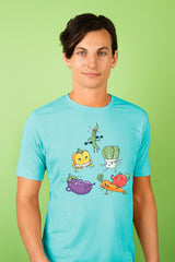 ZillaMunch Tee - Veggie Might - Men - Tahiti