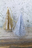 Glitter Bottle Brush Tree Ornament