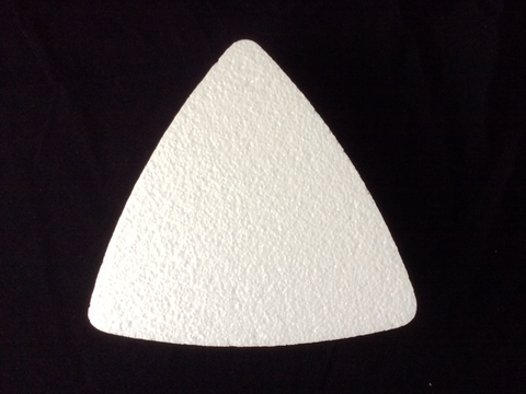 Convex Triangle Dummy Cake - LONE STAR FOAM CO., INC.