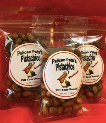 3 pack of Pelican Pete's Pistachios